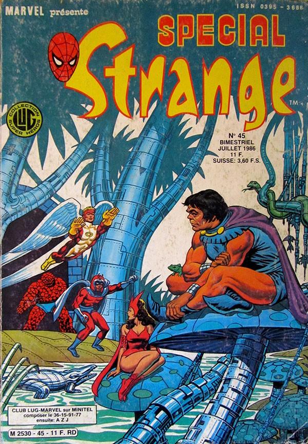Couverture de Spécial Strange -45- Spécial Strange 45