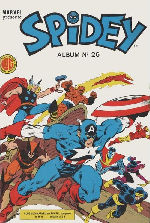 Couverture de Spidey -Rec26- Album N°26 (du n°76 au n°78)