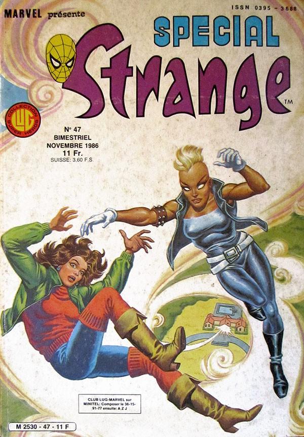 Couverture de Spécial Strange -47- Spécial Strange 47