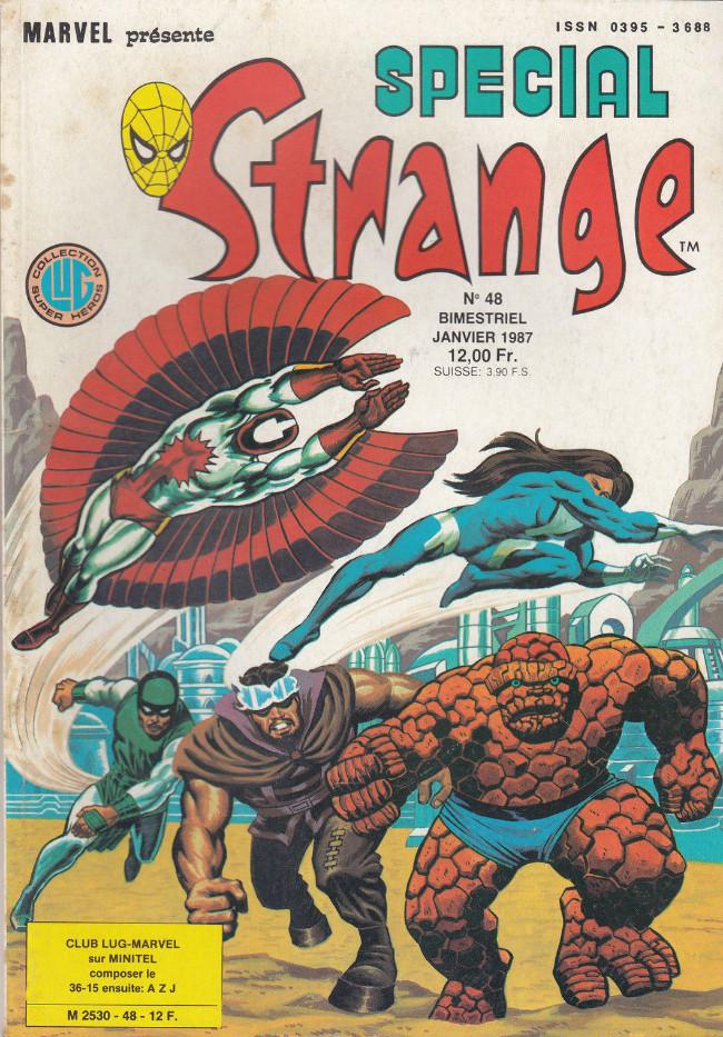 Couverture de Spécial Strange -48- Spécial Strange 48