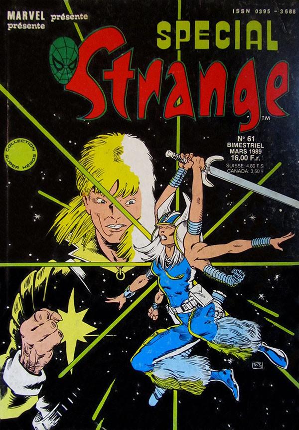 Couverture de Spécial Strange -61- Spécial Strange 61