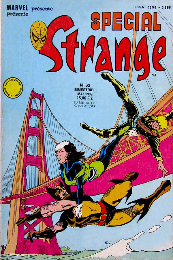 Couverture de Spécial Strange -62- Spécial Strange 62