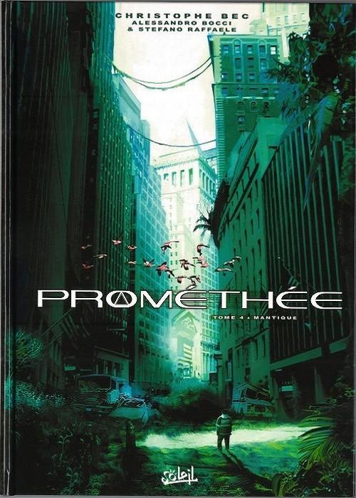 Couverture de Prométhée -4- Mantique