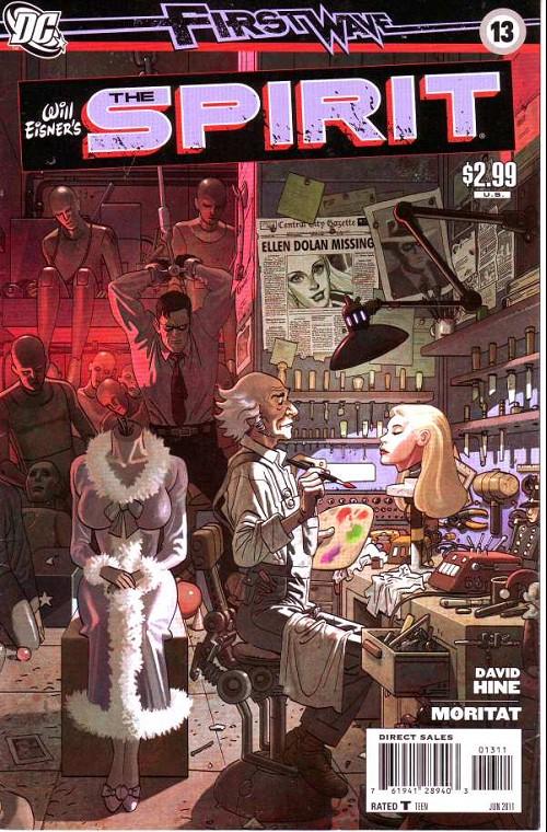 Couverture de Spirit (The) (2010) -13- The clockwork killer (3)