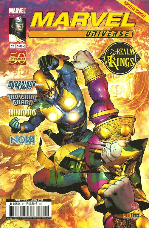 Couverture de Marvel Universe (Panini - 2007) -27- Realm of Kings (3/4)