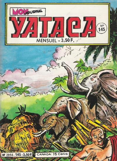 Couverture de Yataca (Fils-du-Soleil) -145- La folie des éléphants