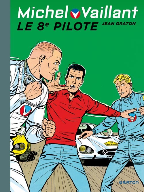 Couverture de Michel Vaillant (Dupuis) -8- Le 8e pilote