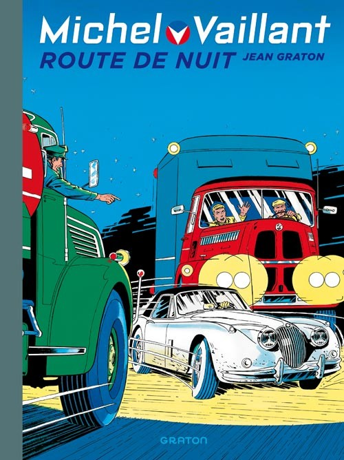 Couverture de Michel Vaillant (Dupuis) -4- Route de nuit