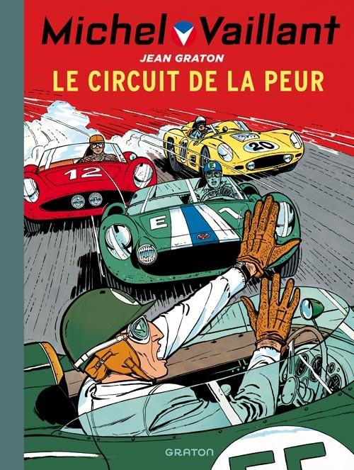 Couverture de Michel Vaillant (Dupuis) -3- Le circuit de la peur