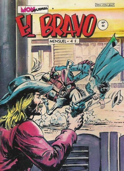 Couverture de El Bravo (Mon Journal) -44- L'or maudit