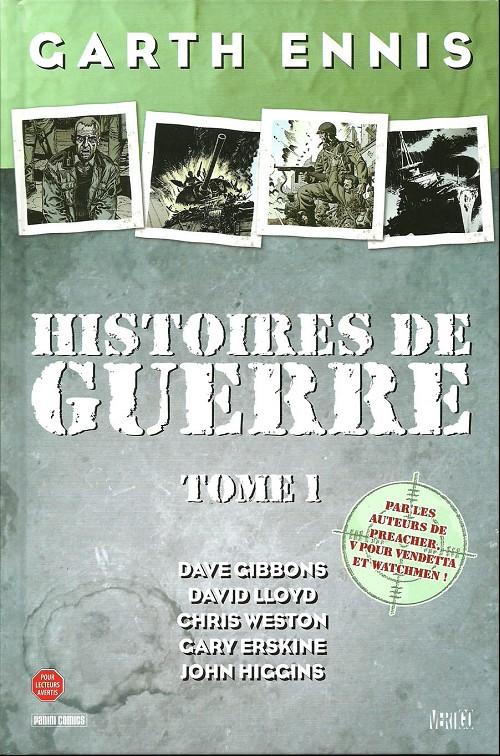 Couverture de Histoires de guerre -1- Tome 1