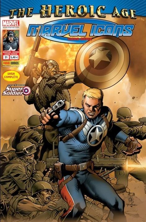 Couverture de Marvel Icons Hors Série -21- Steve Rogers, le super soldat