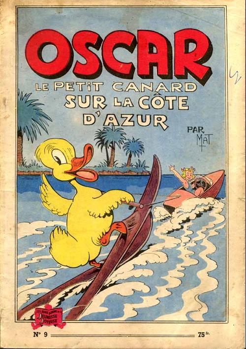 Couverture de Oscar le petit canard (Les aventures d') -9- Oscar le petit canard sur la côte d'Azur