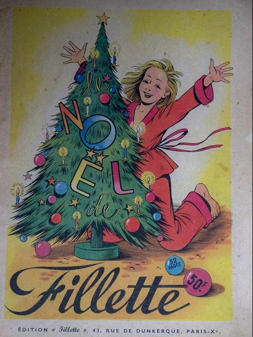 Couverture de Fillette (Après-guerre) -HS50/12- Le Noël de fillette
