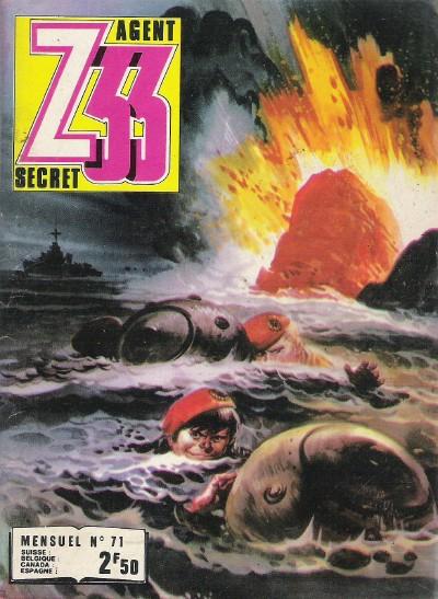 Couverture de Z33 agent secret -71- Des soldats d'acier