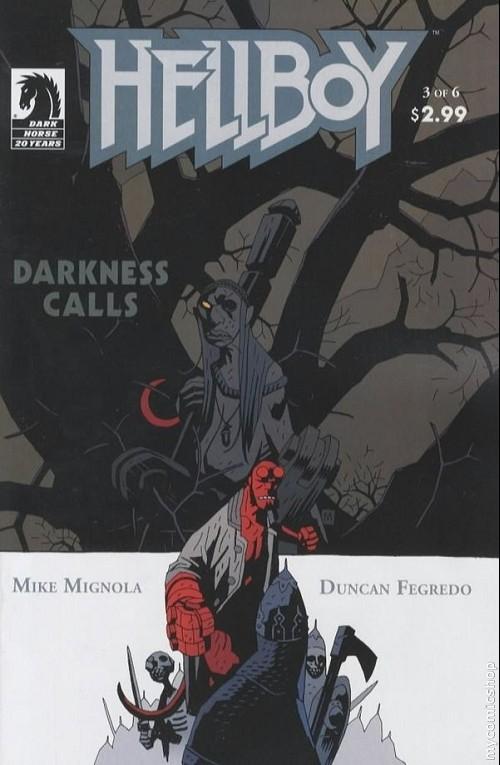 Couverture de Hellboy (1994) -29- Darkness calls 3