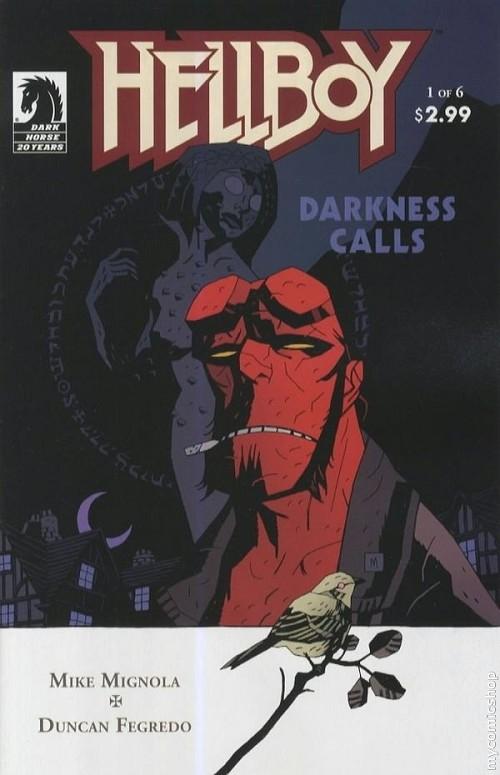 Couverture de Hellboy (1994) -27- Darkness calls 1