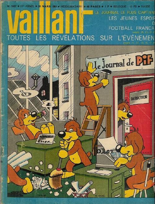 Couverture de Vaillant (le journal le plus captivant) -1037- Vaillant