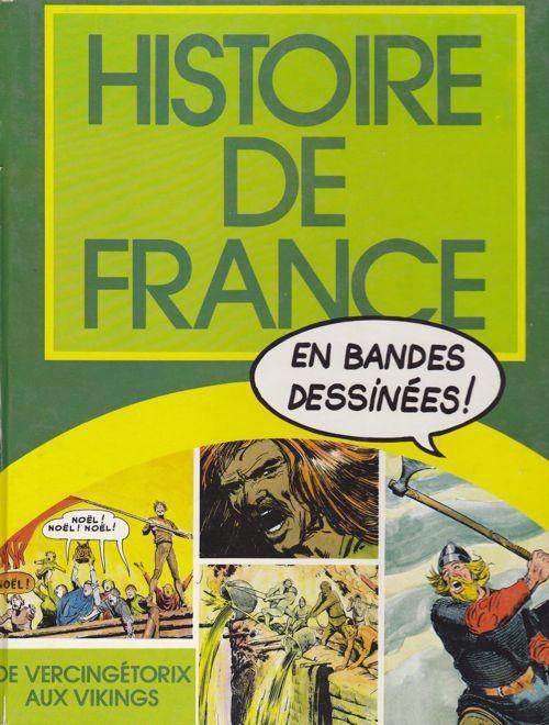 Couverture de Histoire de France Vercingétorix