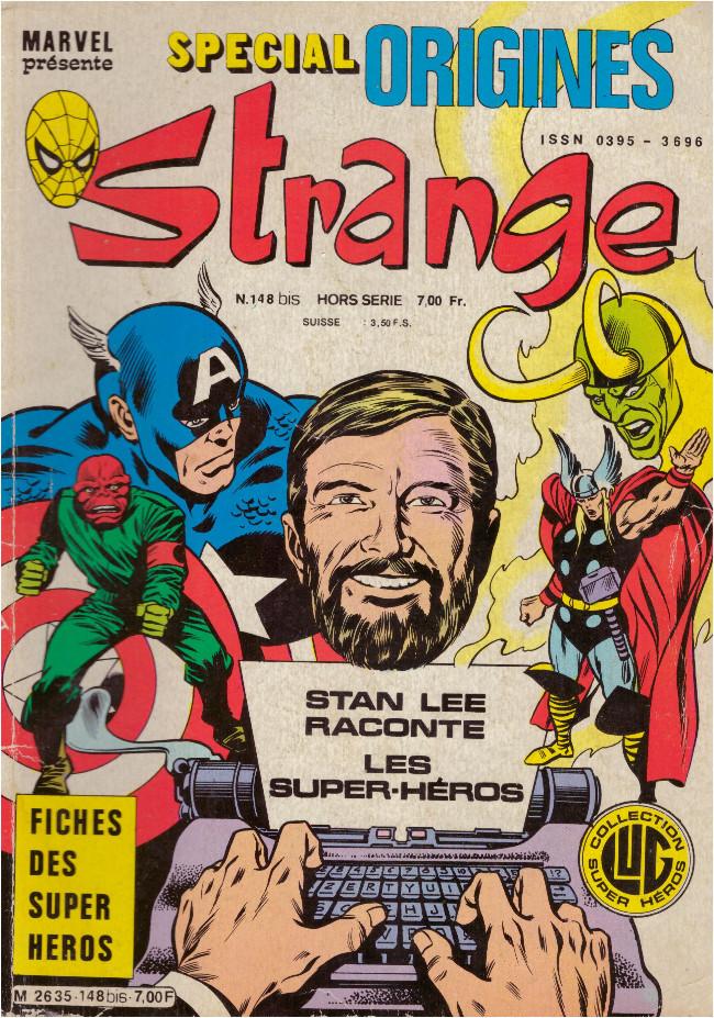Comics Marvel Strange Spécial Origines N° 217 Bis