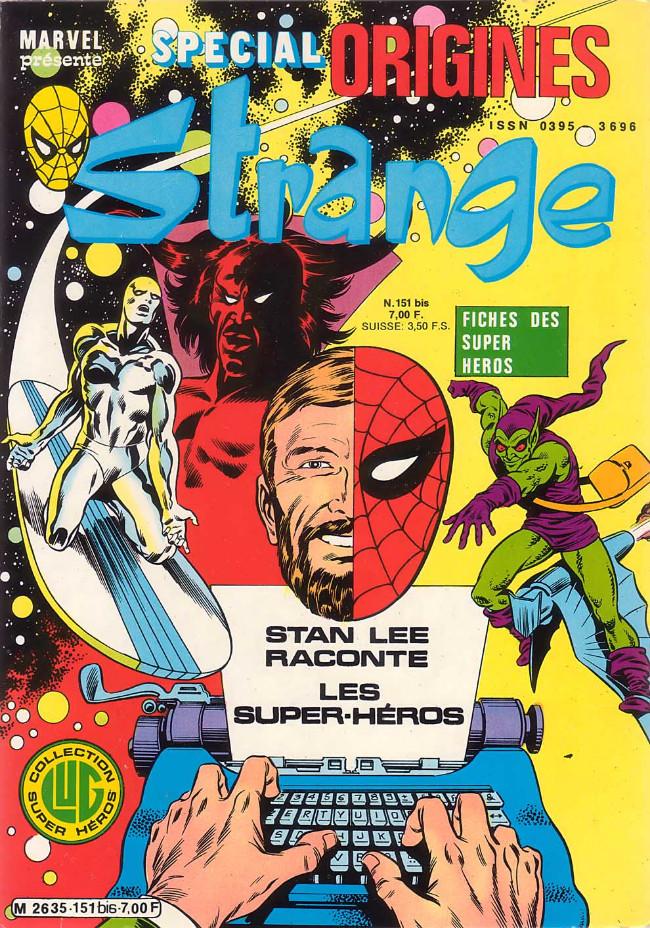 Couverture de Strange (Spécial Origines) -151bis- Strange 151 bis