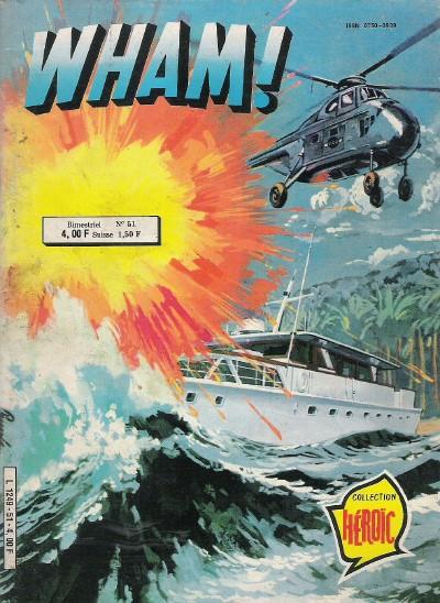 Couverture de Wham ! (2e série) -51- Le plan de Kwaï Lung
