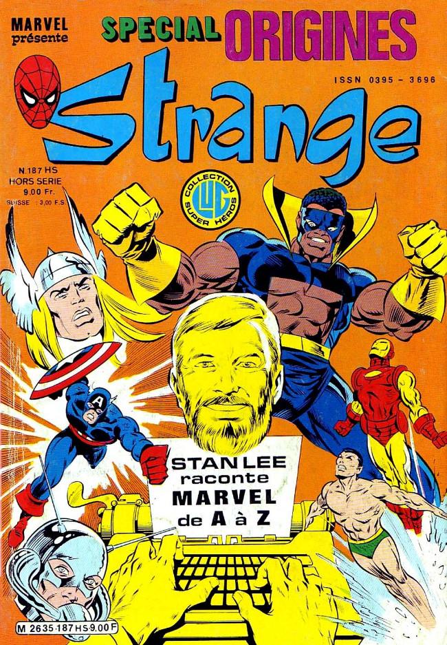 Couverture de Strange (Spécial Origines) -187bis- Strange 187 bis