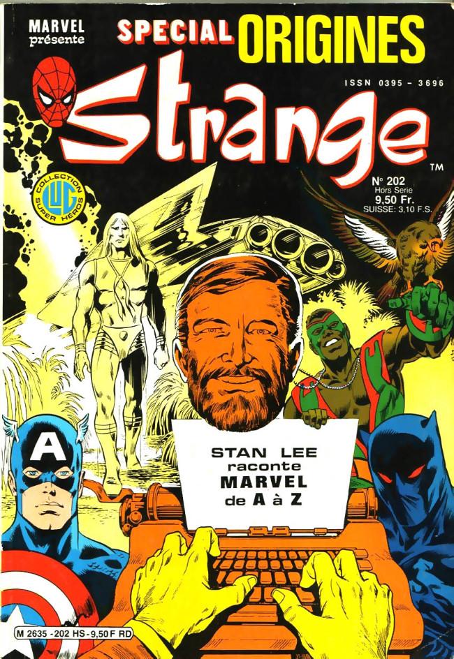 Couverture de Strange (Spécial Origines) -202bis- Strange 202 bis
