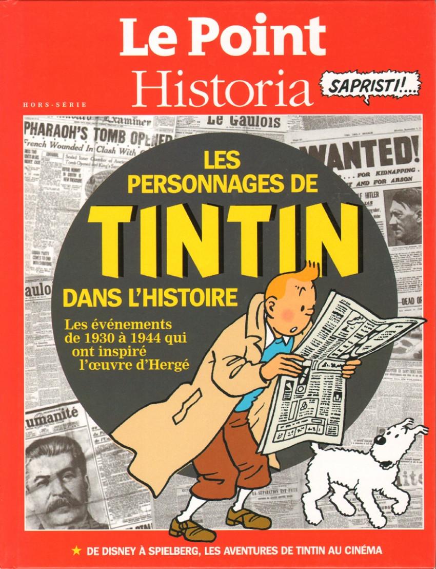 Couverture de Tintin - Divers -60- Les Personnages de Tintin dans l'Histoire