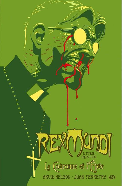 Couverture de Rex Mundi -4- La Couronne et l'Épée