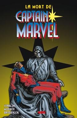Couverture de Best of Marvel -26- La mort de Captain Marvel