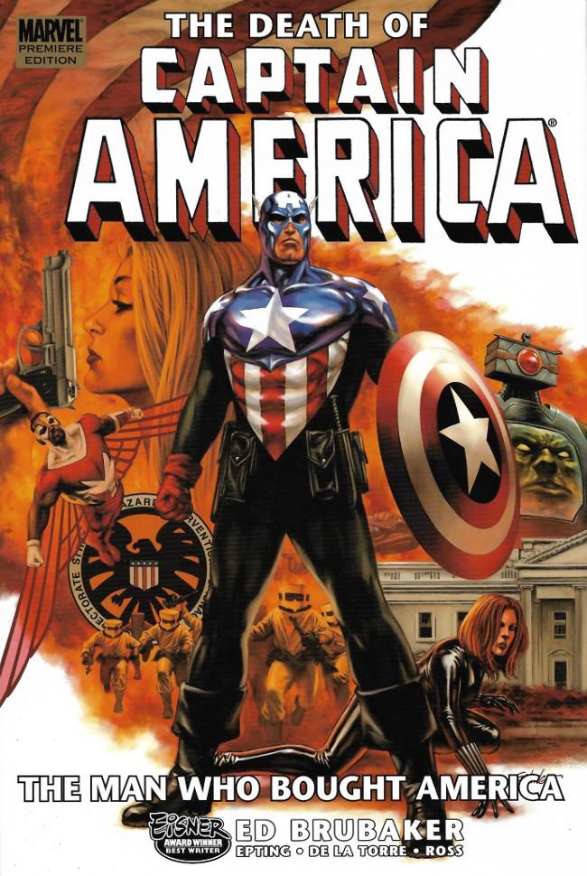 Couverture de Captain America (2005) -INT08- The Death of Captain America 3 : the Man Who Bought America