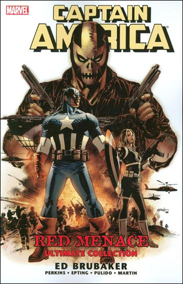 Couverture de Captain America (2005) -ULT02- Red menace Ultimate collection