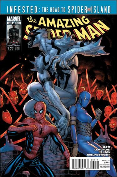 Couverture de Amazing Spider-Man (The) Vol.2 (Marvel comics - 1999) -664- The return of Anti-Venom part 2 : revelation day