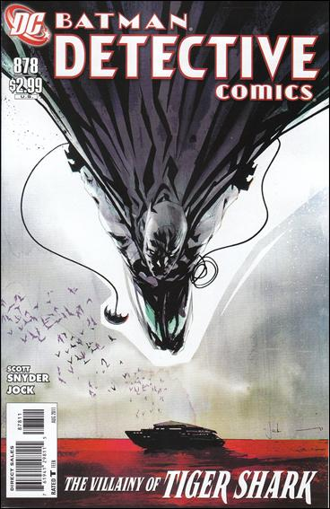 Couverture de Detective Comics Vol 1 (1937) -878- Hungry city (Part 3)