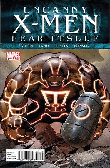 Couverture de Uncanny X-Men (The) (1963) -540- Fear itself