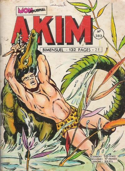 Couverture de Akim (1re série) -383- Mikana l'immortelle