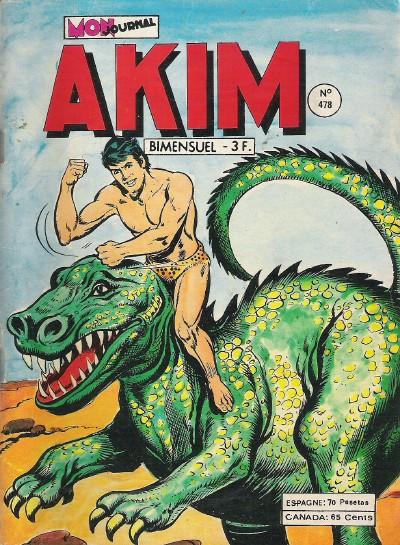Couverture de Akim (1re série) -478- Le jour des dragons