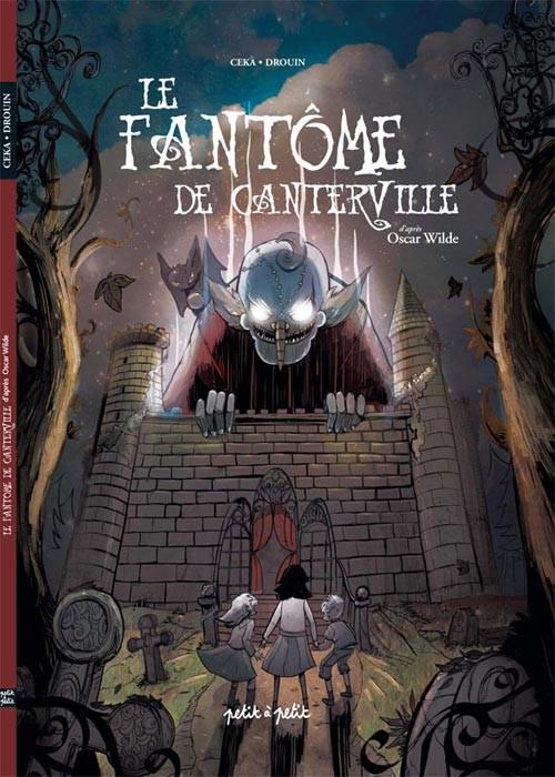 Couverture de Le fantôme de Canterville (Drouin/Céka) - Le fantôme de Canterville