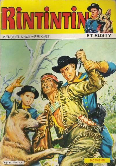 Couverture de Rin Tin Tin & Rusty (2e série) -140- O'Hara héros malgré lui !