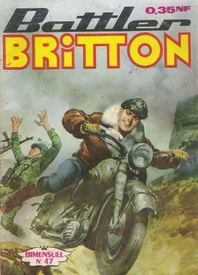 Couverture de Battler Britton -47- L'évasion du professeur
