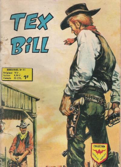 Couverture de Tex Bill -91- La ruse de Tex Bill