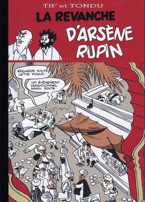 Couverture de Tif et Tondu -PIR2a- La Revanche d'Arsène Rupin
