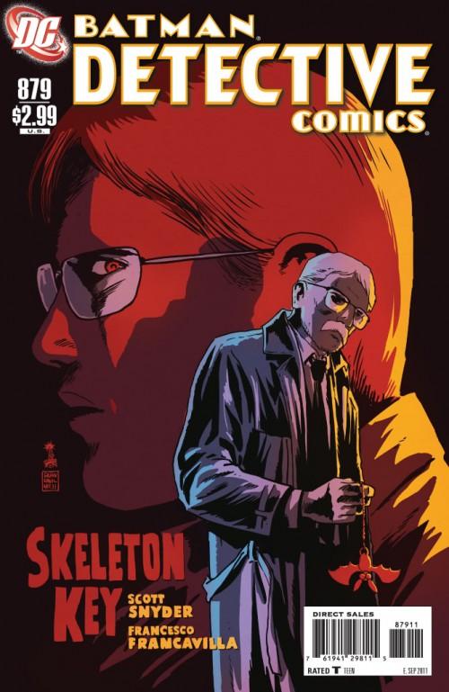 Couverture de Detective Comics (1937) -879- Skeleton keys