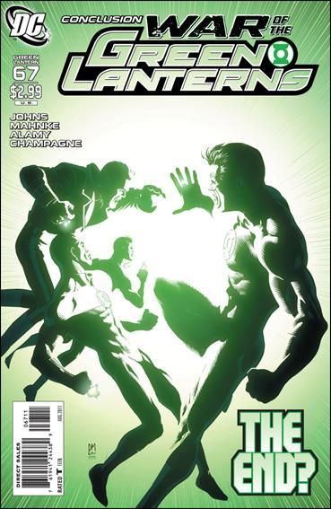 Couverture de Green Lantern (2005) -67- War of the green lanterns part 8
