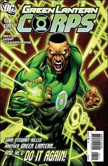 Couverture de Green Lantern Corps (2006) -61- Beware my power