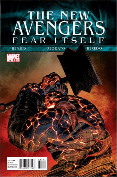 Couverture de New Avengers (The) (2010) -14- Fear itself