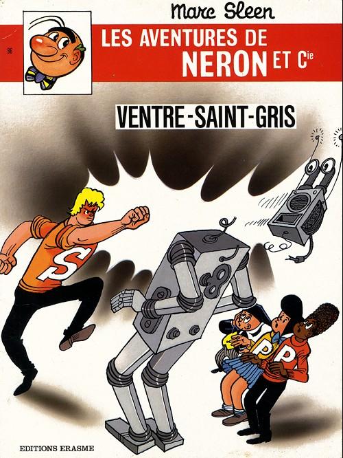 Couverture de Néron et Cie (Les Aventures de) (Érasme) -96- Ventre-Saint-Gris