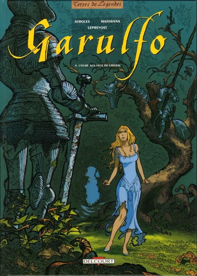 Couverture de Garulfo -4- L'ogre aux yeux de cristal