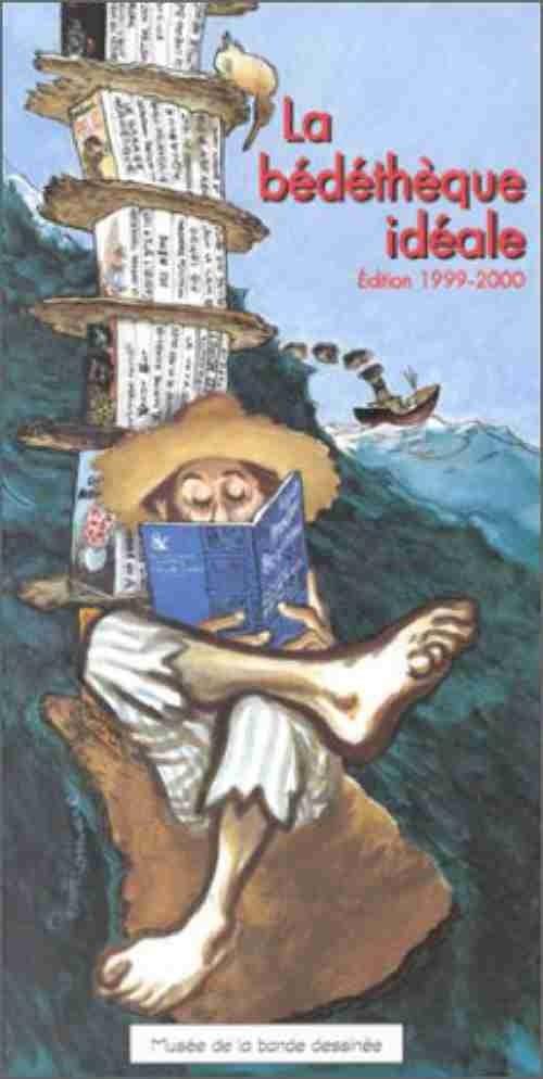 Couverture de (DOC) Conseils de lecture -21999- La bédéthèque idéale - Édition 1999-2000